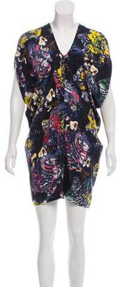 Zero Maria Cornejo Printed Mini Dress w/ Tags