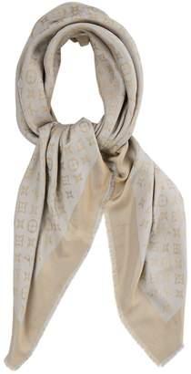 d11d62ee8680 Louis Vuitton Chale Monogram shine Metallic Silk Scarves