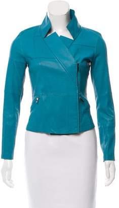 Chanel Textured Moto Jacket