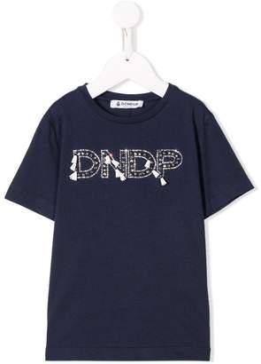 Dondup Kids embellished logo T-shirt