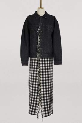 Balenciaga Long denim jacket