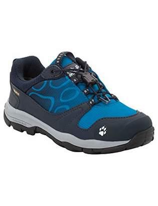 Jack Wolfskin Boys'' Akka Texapore Low B Wasserdicht Rise Hiking Shoes, (Night Blue 1010)