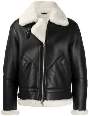 Acne Studios Shearling aviator jacket