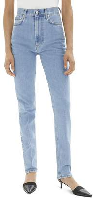 Helmut Lang High-Waisted Skinny Jeans