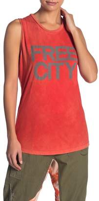 Freecity Free City Str8up Graphic Muscle Tank