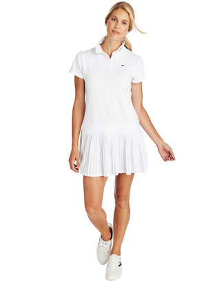 Vineyard Vines Short-Sleeve Pleated Golf Polo Dress