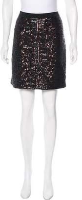 Tory Burch Sequin Mini Skirt