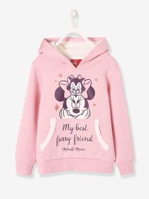 Vertbaudet Minnie Hooded Sweatshirt for Girls