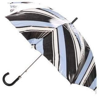 Dolce & Gabbana Striped Print Umbrella