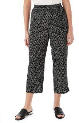 Olsen Anna Cropped Printed Pants