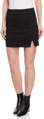 Free People Black Femme Fatal Mini Skirt