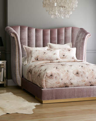 Haute House Moira Channel Tufted King Bed