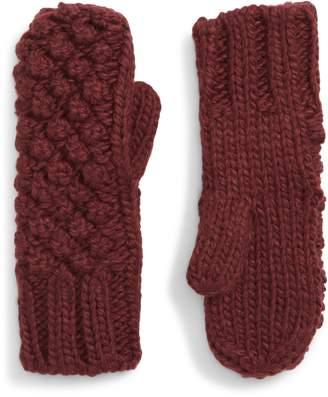 Shiraleah Vale Popcorn Knit Mittens
