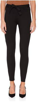 Maison Ullens Black Fitted Compact Jersey Pant
