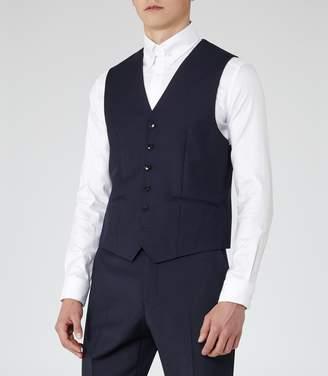 Reiss George W - Slim-fit Waistcoat in Navy