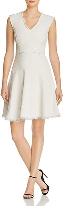 Rebecca Taylor Tweed Fit-And-Flare Dress $450 thestylecure.com