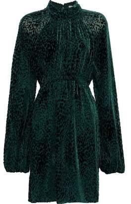A.L.C. Nadia Devore-chiffon Mini Dress
