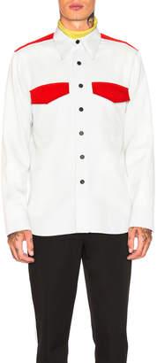 Calvin Klein Regular Fit Uniform Shirt