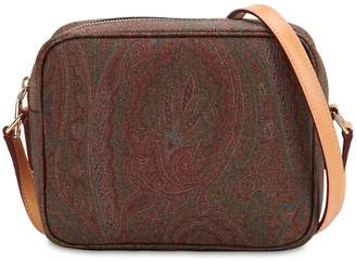 Etro Paisley Faux Leather Shoulder Bag