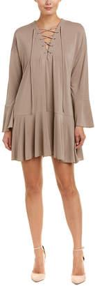 Freeloader Lace-Up Shift Dress