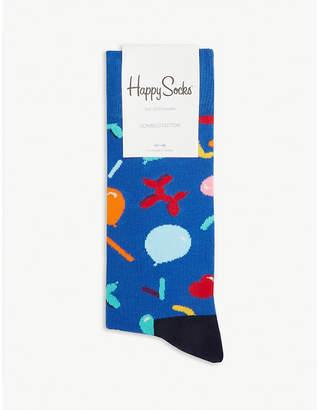 Happy Socks Balloon animal cotton-blend socks