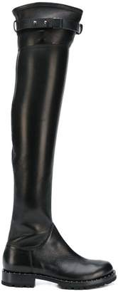 Ermanno Scervino over-the-knee zip boots