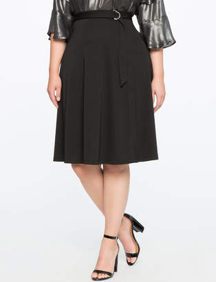 Wrap Skirt with Belt