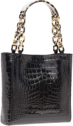 Edie Parker Mini Exotic-Embossed Tote Bag