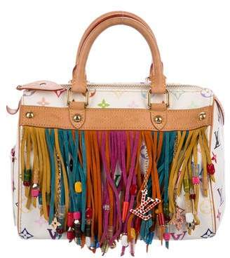 Louis Vuitton Multicolore Fringe Speedy 25