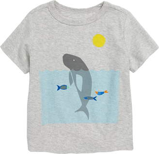 Tea Collection Manatee Graphic T-Shirt