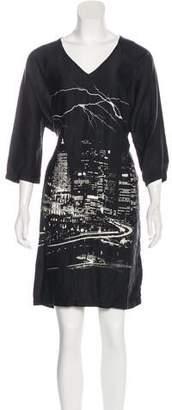 Maison Margiela Printed Knee-Length Dress