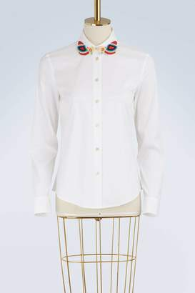RED Valentino Beaded collar shirt