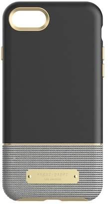 sugar paper Colorblock Case for iPhone 7 - Black\u002FStripe