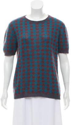 Prada Mohair Blend Knit Sweater