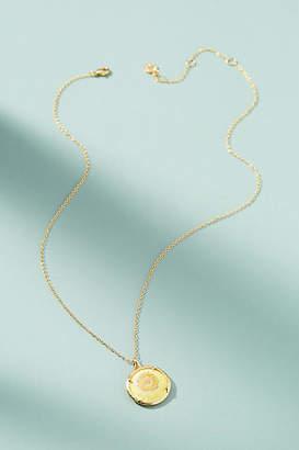 Catherine Weitzman Birthstone Flower Pendant Necklace