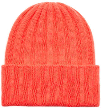 The Elder Statesman Exclusive Short Bunny Echo Beanie