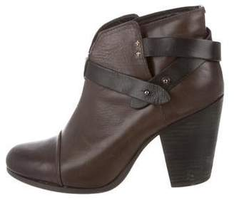Rag & Bone Leather Round-Toe Ankle boots