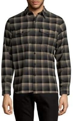 Ralph Lauren Plaid Cotton Wool Shirt
