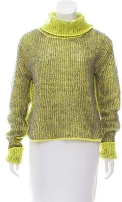 Acne Studios Mohair-Blend Turtleneck Sweater