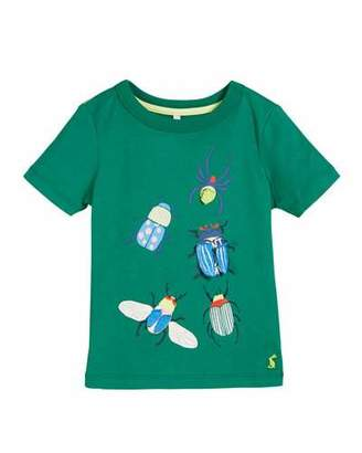Joules Chomper Bugs Graphic Tee, Size 2-6