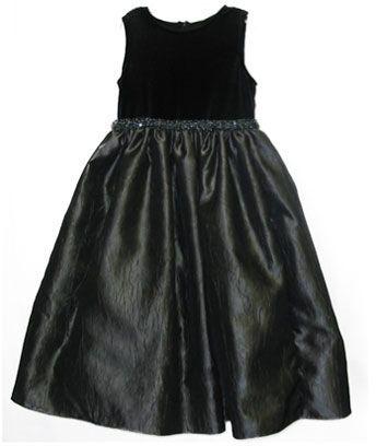 Jayne copeland 7-12 velvet/taffeta dress
