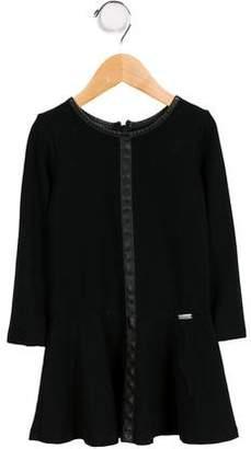 Jean Paul Gaultier Girls' Long Sleeve Dress