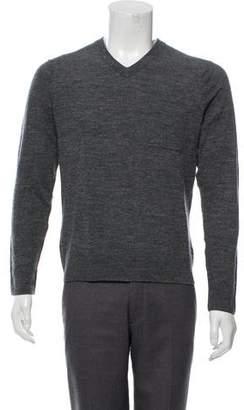 Vince Mélange V-Neck Sweater