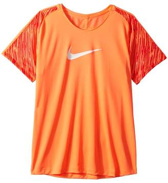 Nike Dry Academy Short Sleeve Soccer Top Girl's Clothing