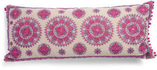 Made In India 14x32 Medallion Pillow