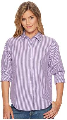 Lauren Ralph Lauren Cotton Button Down Shirt Women's T Shirt