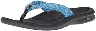New Balance Women's Cush+ Heathered Thong Flip-Flop