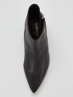 Carvela Signet Ankle Boot - Black