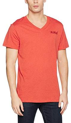 G Star G-Star Men's D03415-2757-7286 Plain V-Neck Short Sleeve T-Shirt