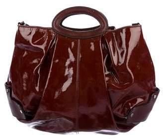 Marni Patent Leather Hobo Bag